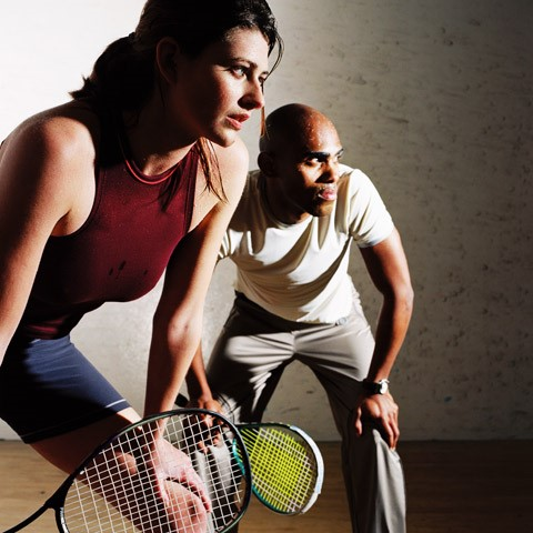Squash and Platform Tennis